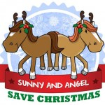 Sunny & Angel Save Christmas at the Animal Center!