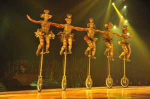 Image courtesy of TOTEM by Cirque du Soleil.