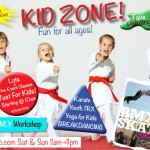 Kid Zone at National Fitness Awareness Expo 2013