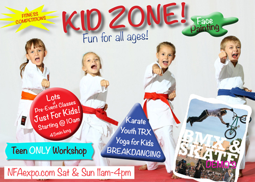 Kid Zone at NFA Expo 2013