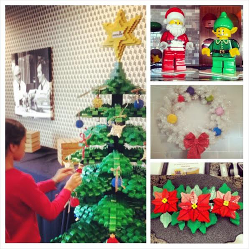Hotel Holiday Decor at LEGOLAND