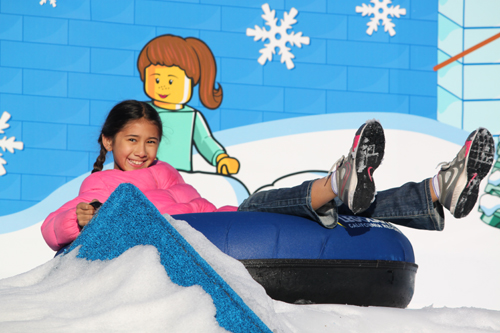 Snow Tubing During Holiday Snow Days
