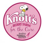 Knott's For The Cure Promotion To Benefit Susan G. Komen OC