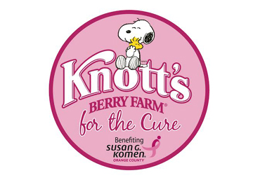 Knott's for the Cure Pink Ticket