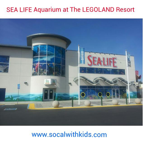 SEA LIFE Aquarium at the LEGOLAND CA Resort