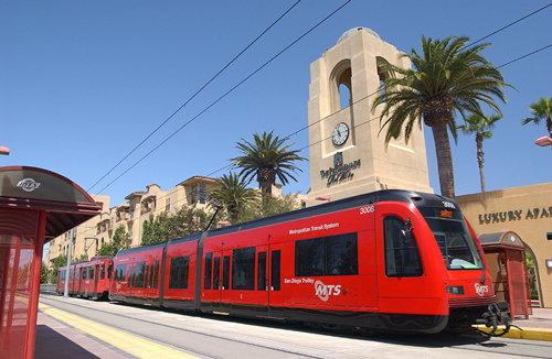 San Diego Trolley Photo By MTS