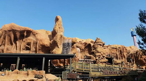 Calico Mine Ride At Knott's Berry Farm ~ www.socalwithkids.com