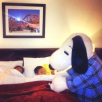 Knott's Berry Farm Hotel Offers Snoopy Bedtime Tuck-In!