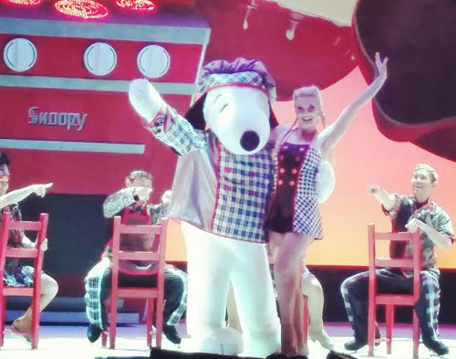 Snoopy Unleashed Ice Skating Show ~ www.socalwithkids.com
