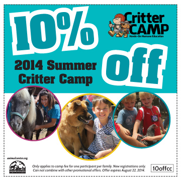 Critter Camp Discount Code