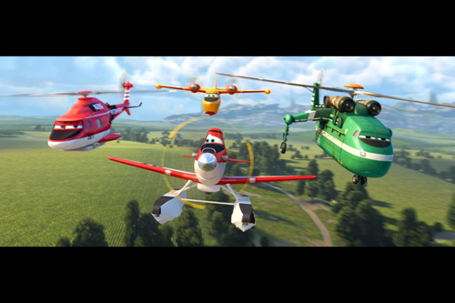 Disney's Planes: Fire & Rescue Characters ~ Image Courtesy of Disney Pictures ~ www.socalwithkids.com