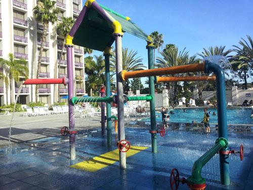 Knott's Berry Farm Pool Play Area