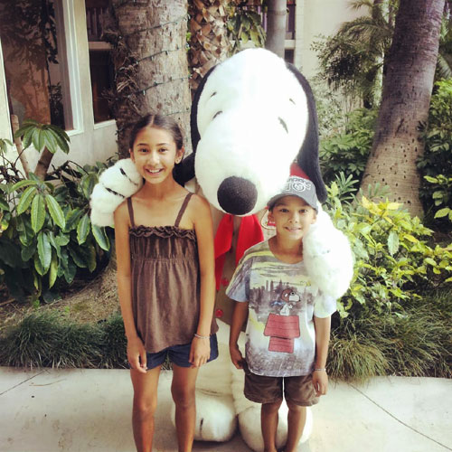Snoopy At Knott's Hotel ~ www.socalwithkids.com
