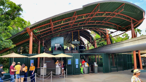 Monorail Station at Downtown Disney ~ www.socalwithkids.com