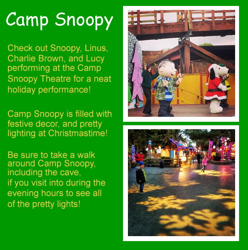 Knott's Camp Snoopy - Merry Farm