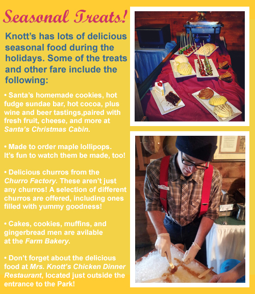 Knott's Berry Farm Seasonal Treats