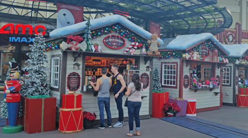 Winter Village in Downtown Disney