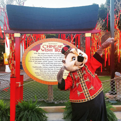 SeaWorld Lunar New Year Character