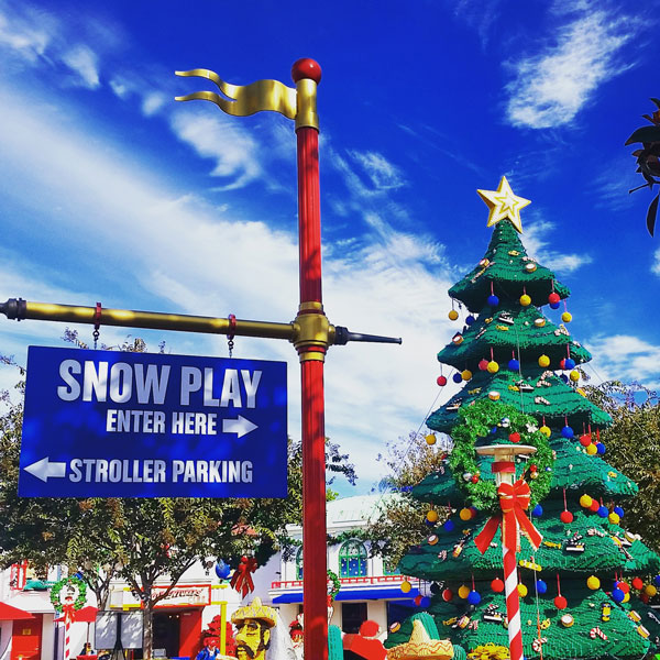 LEGOLAND Holiday Snow Days ~ www.socalwithkids.com