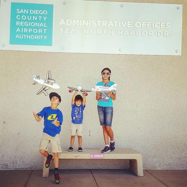 SAN Airfield Tour / www.socalwithkids.com