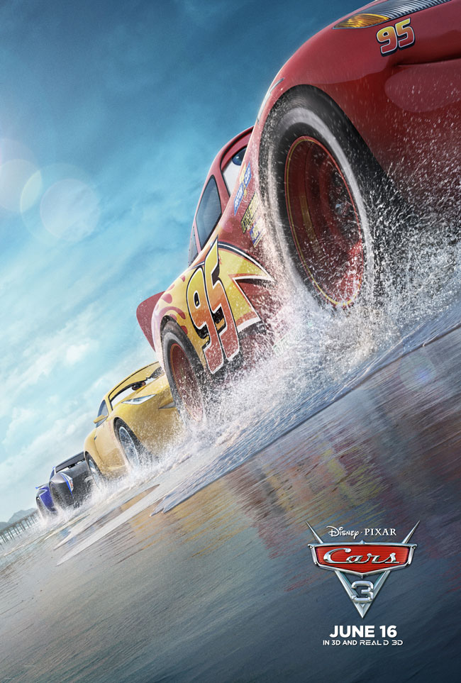 CARS 3 Movie Opens June 16, 2017!