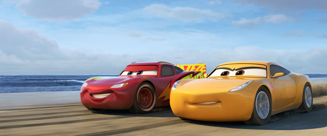CARS 3 Lightning and Cruz ~ www.socalwithkids.com