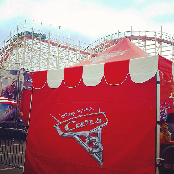 Cars 3 Tour at Belmont Park in San Diego ~ www.socalwithkids.com