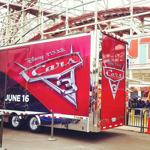 Cars 3 Tour at Belmont Park ~ www.socalwithkids.com