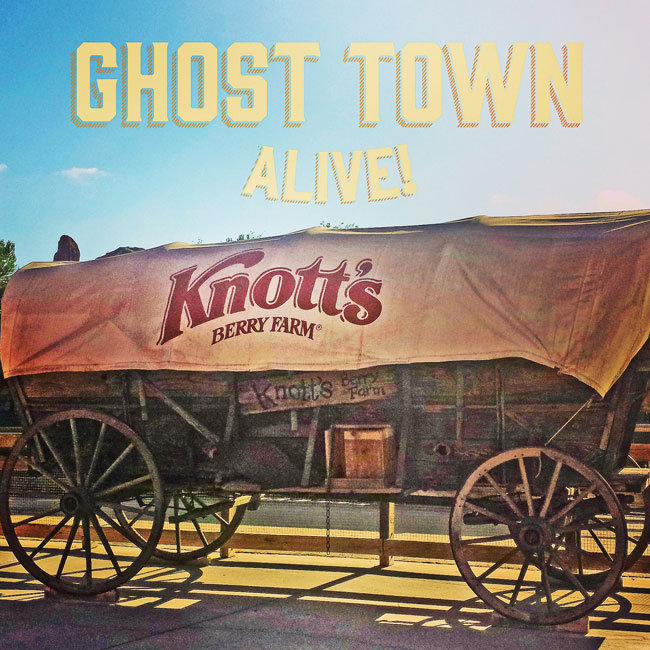 Ghost Town Alive at Knott's ~ www.socalwithkids.com
