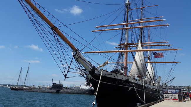Star of India at San Diego Maritime Museum ~ www.socalwithkids.com