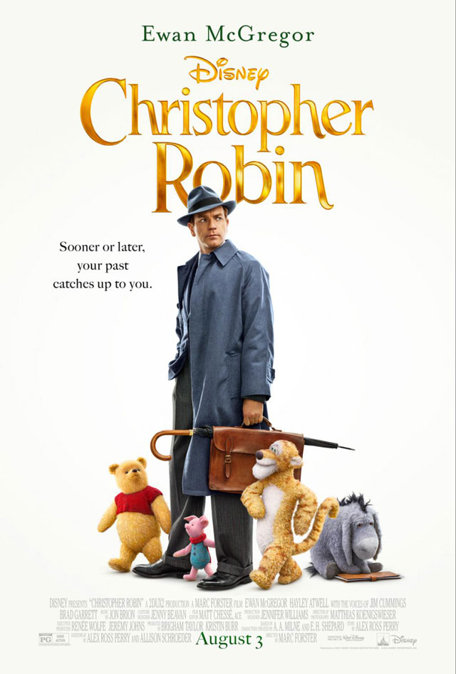 Disney 'Christopher Robin' movie title image ~ www.socalwithkids.com