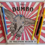 Dumbo Coloring Page ~ www.socalwithkids.com