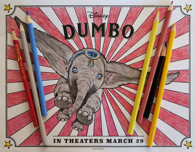 FREE Disney Dumbo Movie Printables - SoCal with Kids